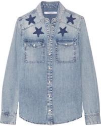 Camisa celeste de Givenchy