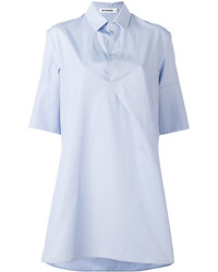 Camisa celeste de Jil Sander