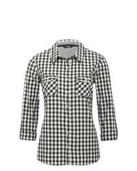 Cuadro Vichy Cómo Y Camisa Negro Blanco Una Looks En De 4 Combinar XX4xIw
