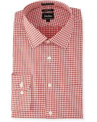64aa1dfda265a Cómo combinar una camisa de cuadro vichy roja (50 looks de moda ...