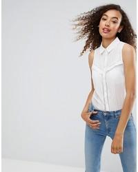 Camisa de Encaje Blanca de Asos