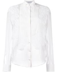 Camisa de encaje blanca de Givenchy