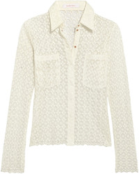 Camisa de encaje blanca de See by Chloe