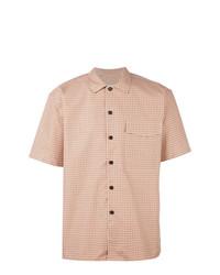 Camisa de manga corta amarilla de AMI Alexandre Mattiussi