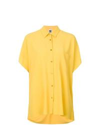 Camisa de manga corta amarilla de M Missoni