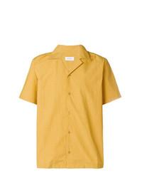 Camisa de manga corta amarilla de Saturdays Nyc