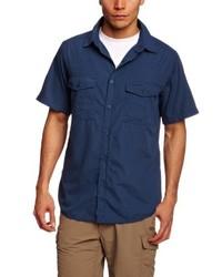 Camisa de manga corta azul marino de Craghoppers
