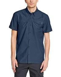 Camisa de manga corta azul marino de EIDER