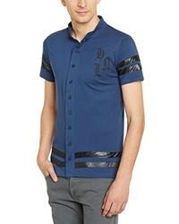 Camisa de manga corta azul marino de Hope'N Life