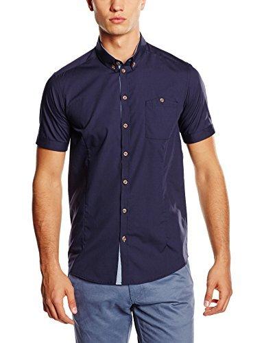 Camisa de manga corta azul marino de Minimum