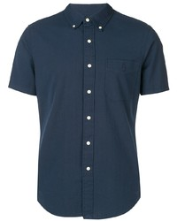 Camisa de manga corta azul marino de Polo Ralph Lauren