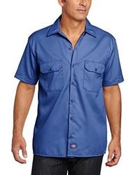 Camisa de manga corta azul de Dickies