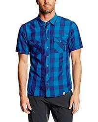 Camisa de manga corta azul de Ortovox
