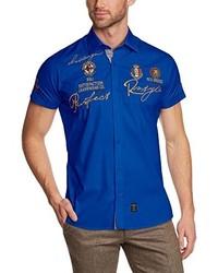 Camisa de manga corta azul de Redbridge