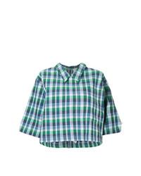 Camisa de manga corta azul de Thom Browne