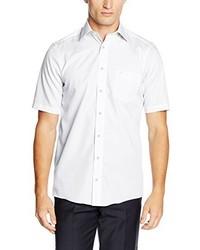 Camisa de manga corta blanca de Casamoda