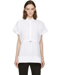 Camisa de manga corta blanca de Christopher Kane