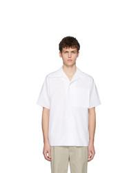 Camisa de manga corta blanca de Maison Margiela
