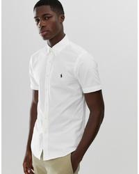 Camisa de manga corta blanca de Polo Ralph Lauren