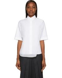 Camisa de manga corta blanca de Public School