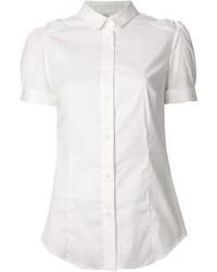 Camisa de manga corta blanca de RED Valentino