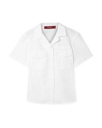 Camisa de manga corta blanca de Sies Marjan
