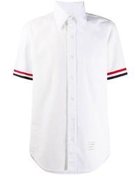 Camisa de manga corta blanca de Thom Browne