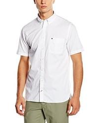 Camisa de Manga Corta Blanca de Tommy Hilfiger