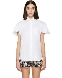 Camisa de manga corta blanca de Valentino