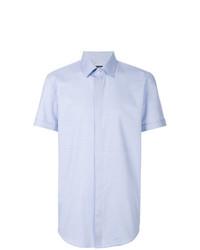 Camisa de manga corta celeste de BOSS HUGO BOSS