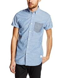 Camisa de manga corta celeste de Jack & Jones
