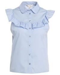Camisa de Manga Corta Celeste de Miss Selfridge