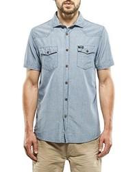 Camisa de manga corta celeste de Petrol Industries