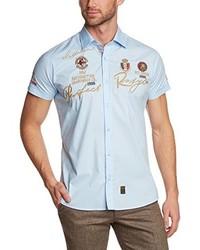 Camisa de manga corta celeste de Redbridge