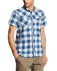Camisa de manga corta celeste de Salewa
