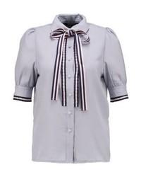 Camisa de Manga Corta Celeste de Sister Jane
