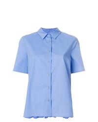 Camisa de manga corta celeste de Twin-Set