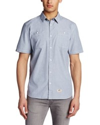 Camisa de manga corta celeste de Vans