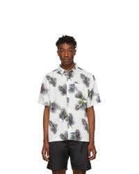 Camisa de manga corta con print de flores blanca de Saturdays Nyc