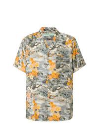 Camisa de manga corta con print de flores en multicolor de Off-White