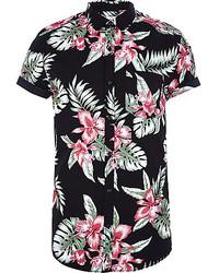 bien conocido vista previa de nueva precios más bajos Cómo combinar una camisa de manga corta con print de flores ...