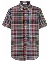 Camisa de manga corta de tartán en multicolor de Polo Ralph Lauren
