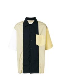 Camisa de Manga Corta en Multicolor de Marni
