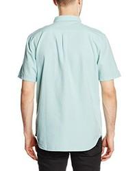 ... Camisa de manga corta en verde menta de Vans d34aedf38a2