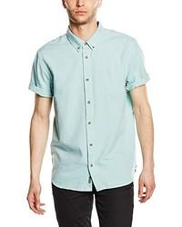 Camisa de manga corta en verde menta de Vans