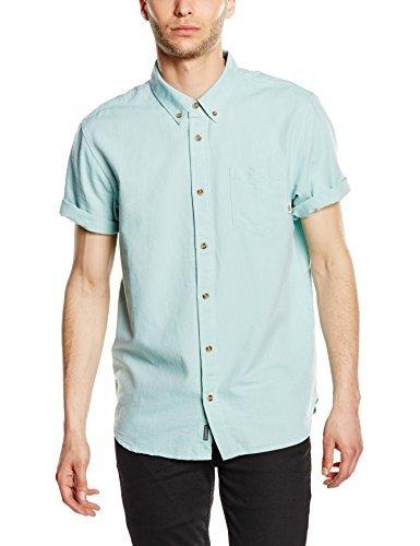 ... Camisa de manga corta en verde menta de Vans ... 4fa44875710