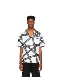 Camisa de manga corta estampada en blanco y negro de Stolen Girlfriends Club