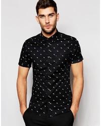 tienda zapatos clasicos gran colección Comprar una camisa de manga corta estampada Asos | Moda para ...