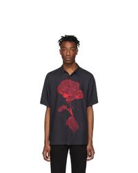 Camisa de manga corta estampada negra de Ksubi
