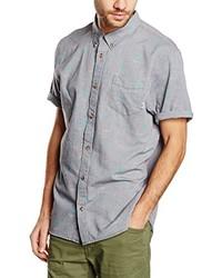 Camisa de manga corta gris de Vans